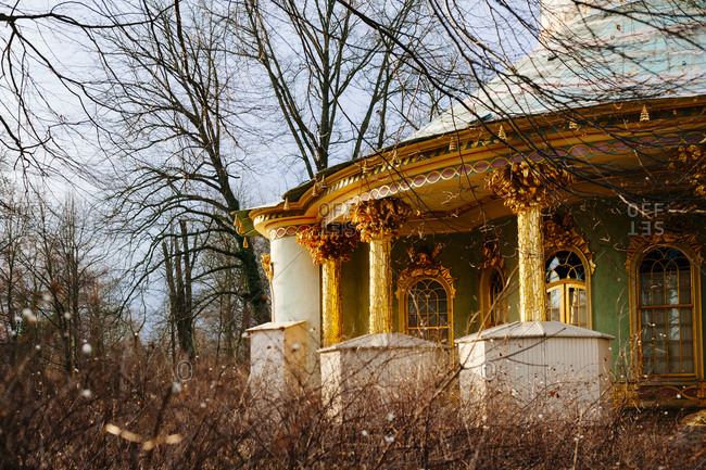 The Chinese House at Sanssouci Park in Potsdam, Germany