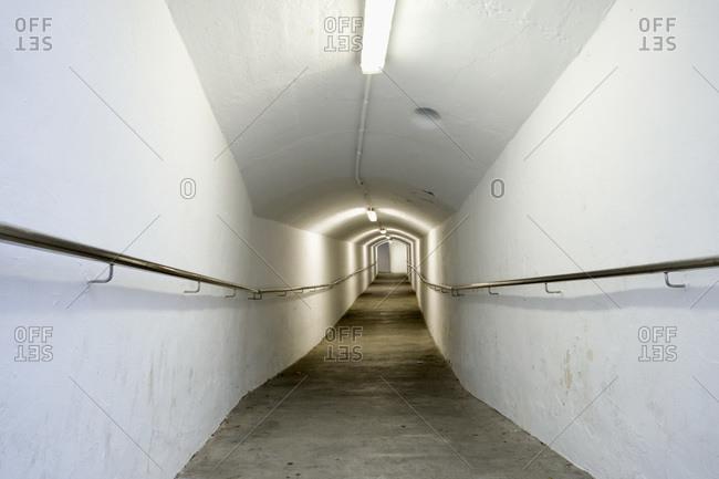 Illuminated underpass, Ibiza - Offset Collection