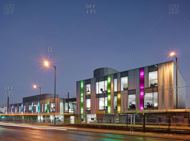 Office development in Manchester, England