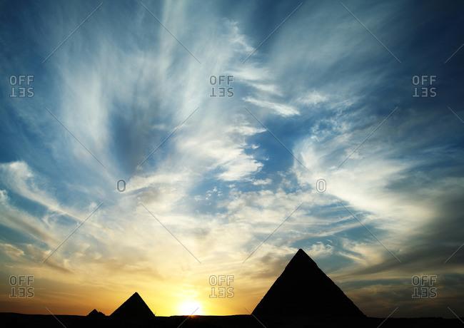 Giza Grand Pyramids, Giza, Egypt