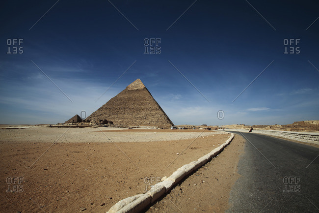 Giza Grand Pyramids in Egypt