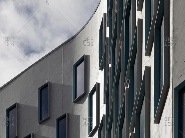 Sydney, Australia - April 23, 2015: Facade of university building, Sydney, Australia