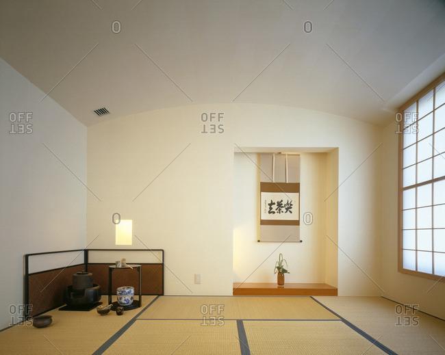 Minimalist Japanese living space