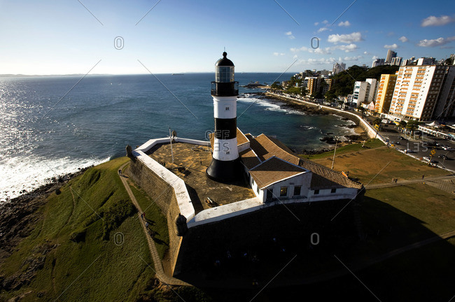 Lighthouse in Salvador, Brazil