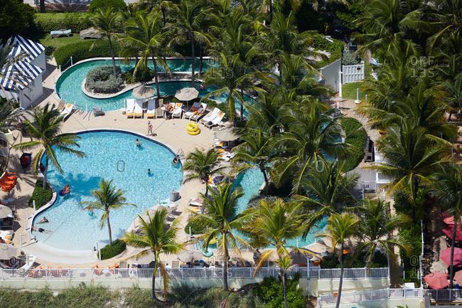 Fort Lauderdale, Florida - September 4, 2015: Pelican Grand Beach Resort