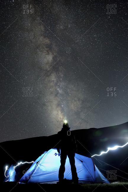 Night sky in Ladakh, India