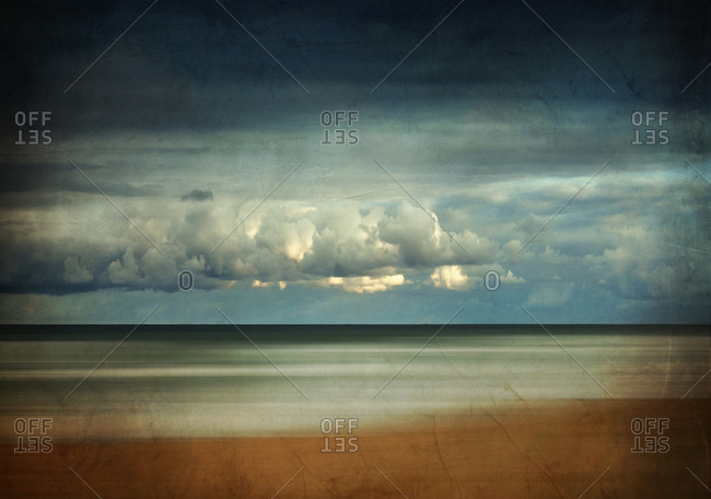 Beach in the morning, Contis-Plage