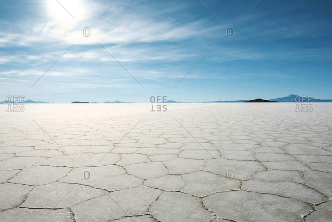 Uyuni salt flats, Altiplano, Atacama