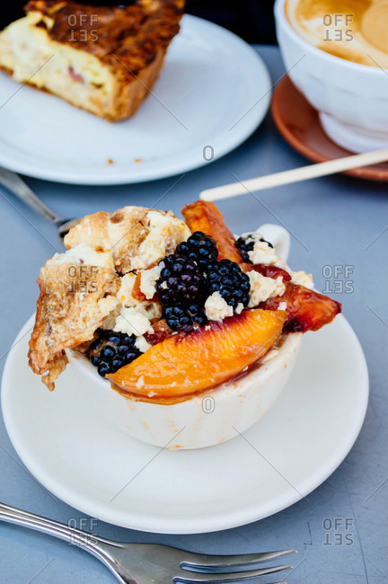 Bread Pudding with fruit