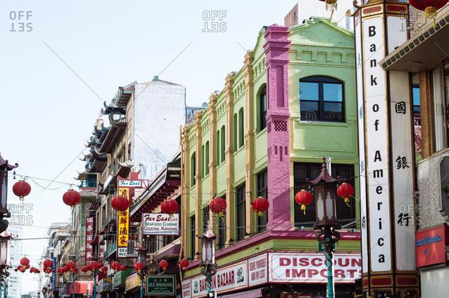 San Francisco, CA, USA - May 2, 2014: Chinatown, San Francisco