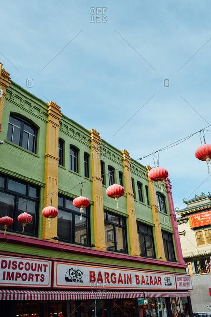 San Francisco, CA, USA - December 17, 2013: Chinatown, San Francisco