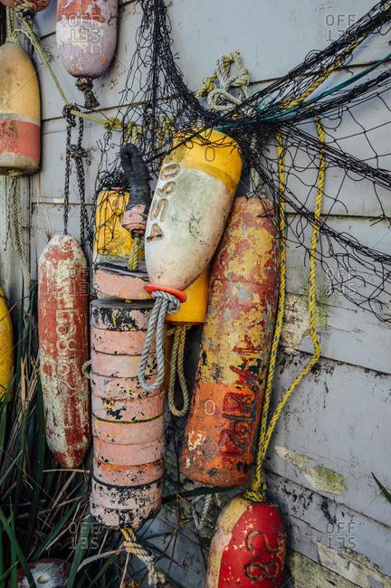 Hanging buoys