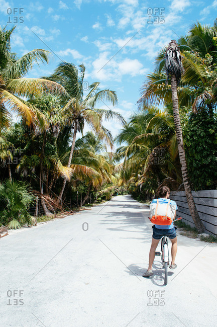Biking in Tulum, Mexico
