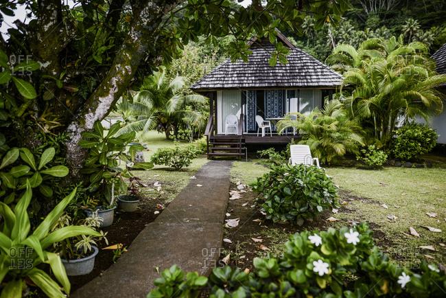 Small hut in Tahiti