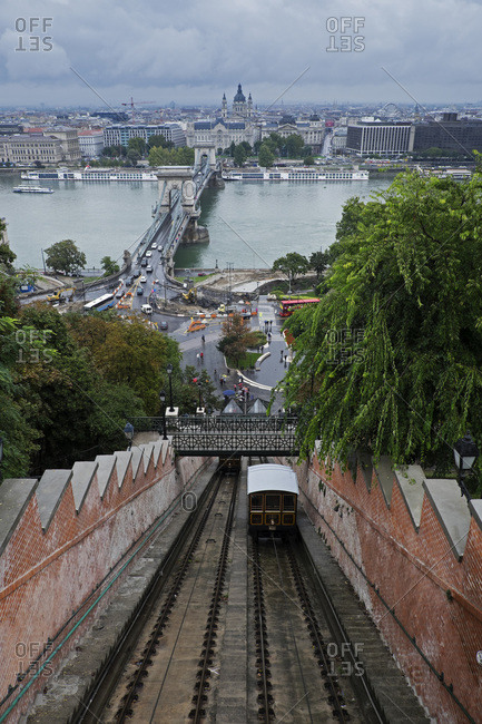 Budapest Castle Hill Funicular, Castle Hill, Budapest, Hungary