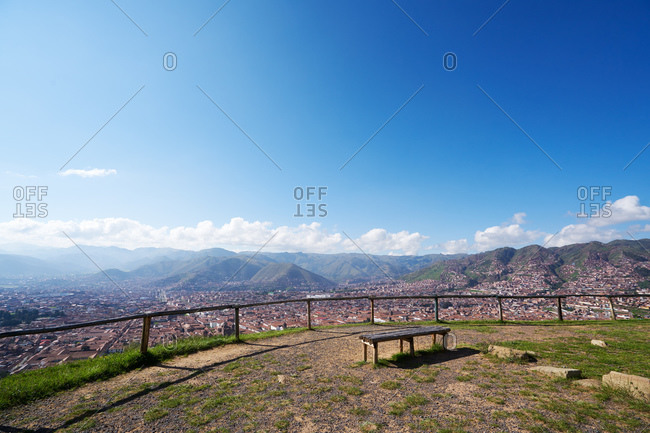 Andean mountain overlook - Offset Collection
