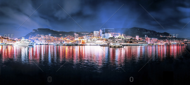 Monte Carlo at night - Offset