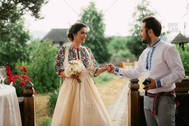 Romanian stock photos offset - Traditional style wedding romania ...