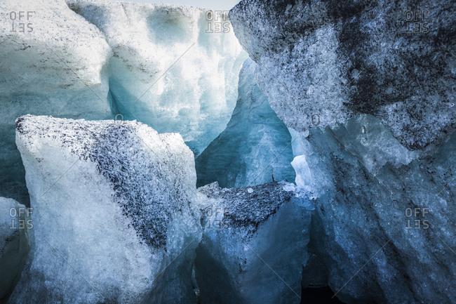Glacier in Reykjavik, Iceland