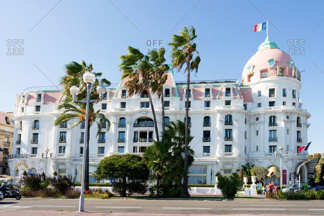 Le Negresco Hotel in Nice, France