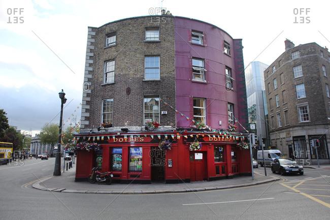 Dublin, Ireland - July 4, 2012: Doyle's Bar, Dublin, Ireland