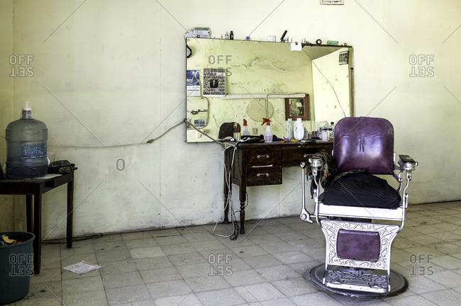 Inside a Mexican barbershop