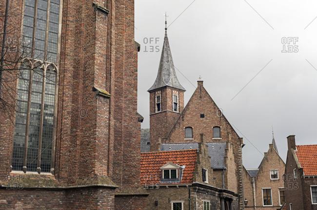 Buildings in Zeeland, the Netherlands