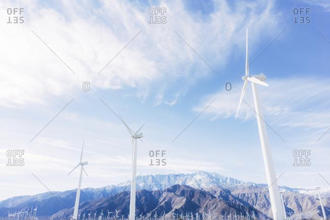 Wind farm in California