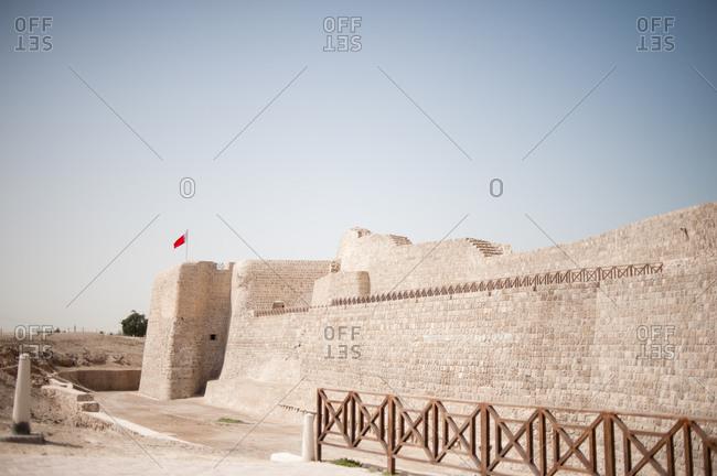 bahrain fort stock photos - OFFSET