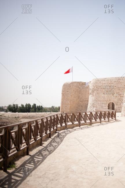 Fort of Bahrain in Manama, Bahrain