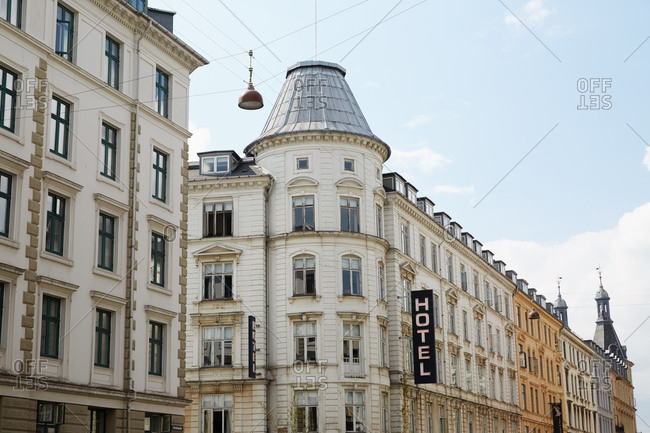 Historic hotel in Copenhagen, Denmark