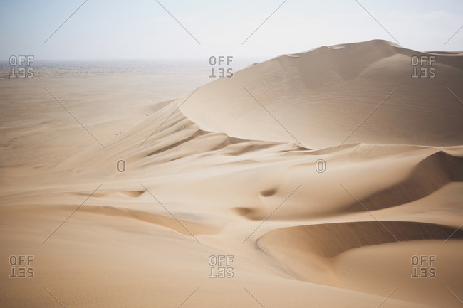 Dune 7, the seventh highest dune in the world. Near Walvis Bay, Namibia