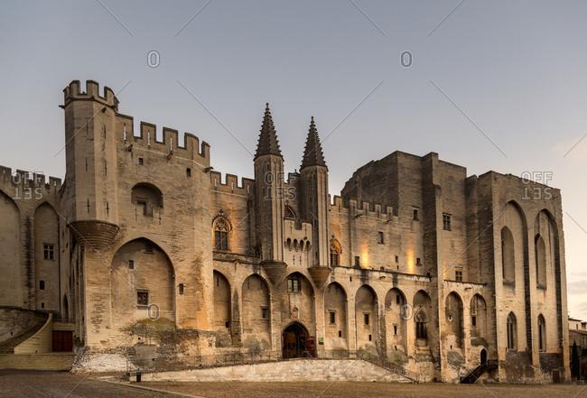 Palais des Papes in Avignon, France