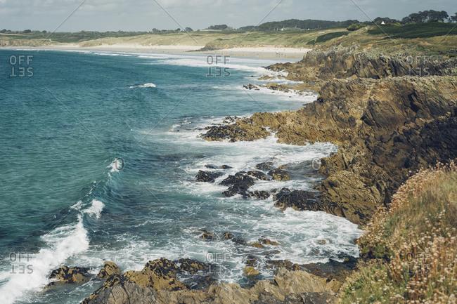 France, Brittany, Pointe de Kermorvan, Le Conquet