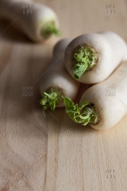 Turnips on wood - Offset Collection