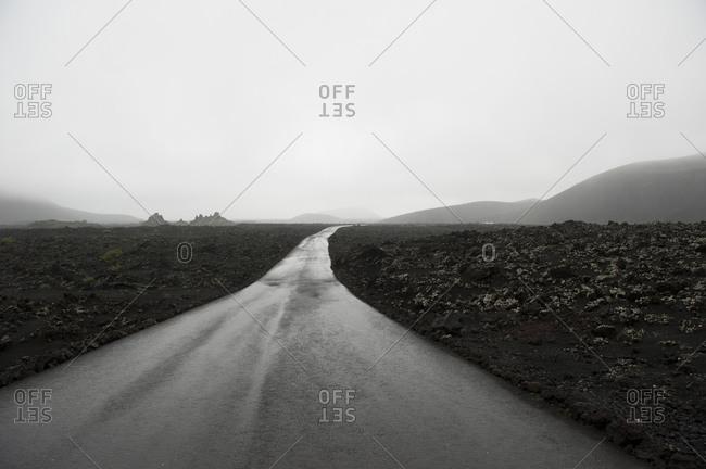 An empty road - Offset Collection