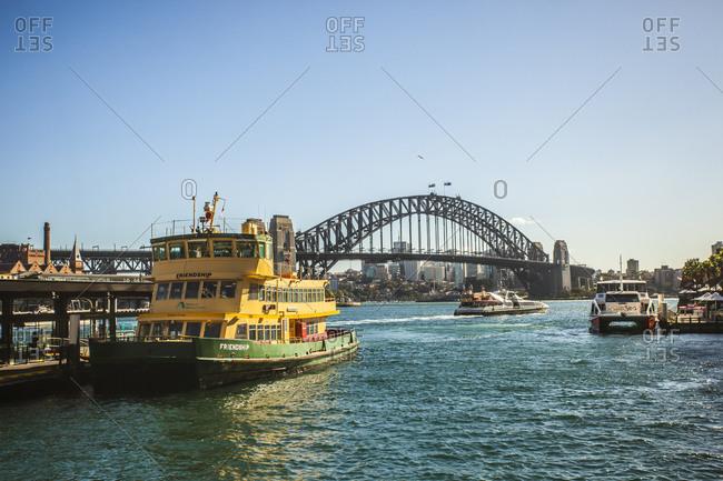 Sydney, Australia - May 13, 2015: Circular Quay