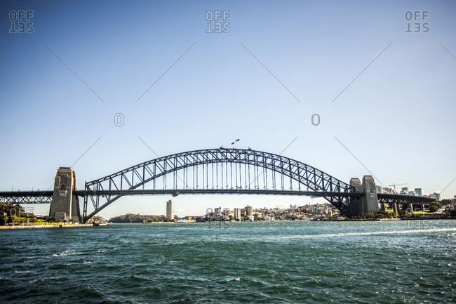 Harbour Bridge, Sydney, Australia - Offset