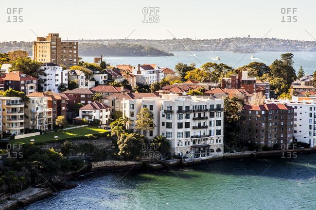 Condos in Kirrillibi suburb of Sydney, Australia