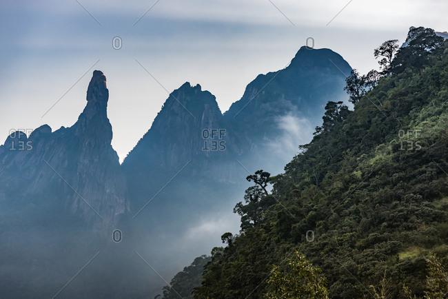 A view of mountains, Teresopolis