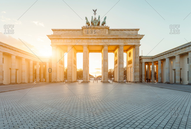 Berlin's Brandenburg Gate, Germany