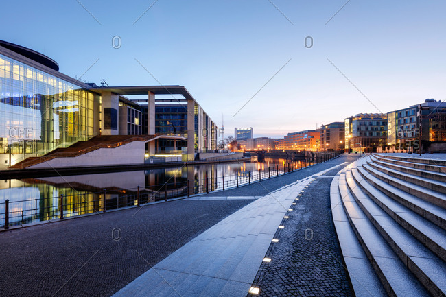 Government buildings in Berlin, Germany