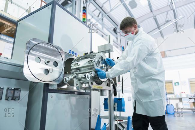 Graphene nano material processing in graphene processing factory