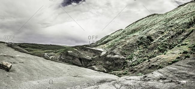 Sparse landscape, Bridger, Montana, USA
