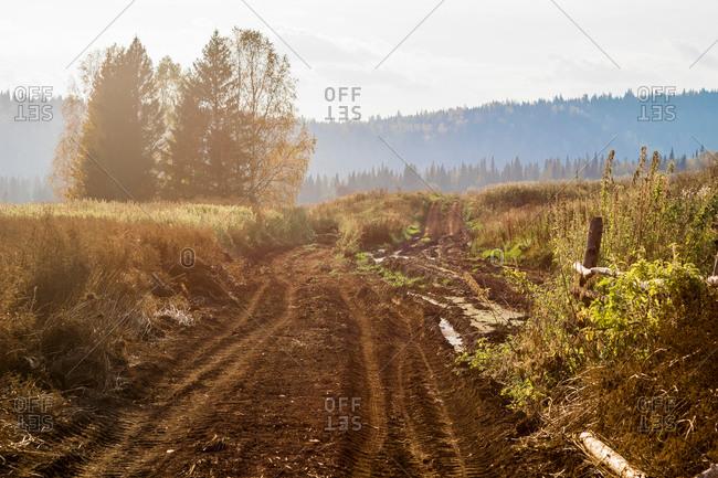 Rural scene, Ural, Russia