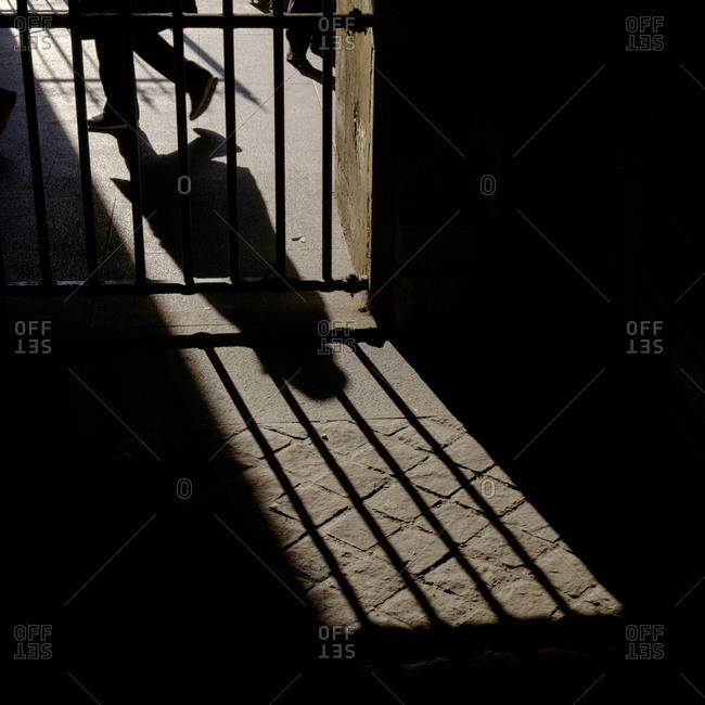 - April 5, 1904: Shadow of person by gate