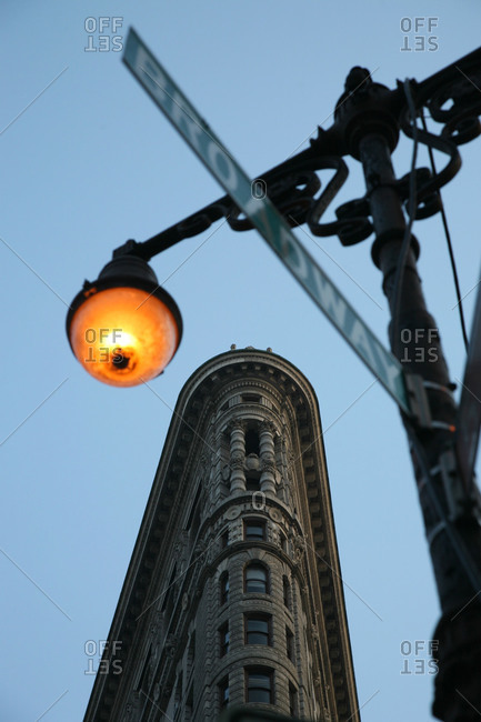 Flatiron Building in New York City, USA