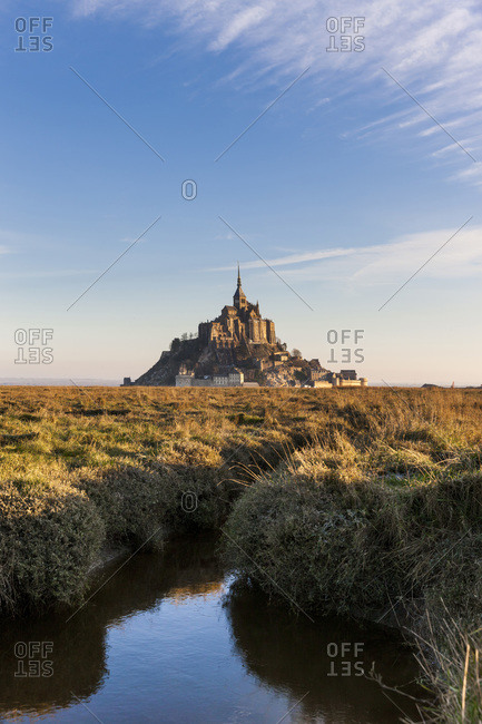 Le-Mont-Saint-Michel, Normandy, France