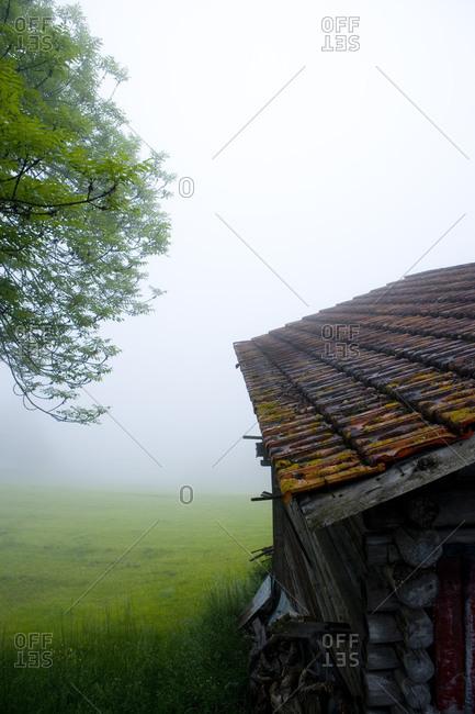 Mountain hut in Arosa, Switzerland
