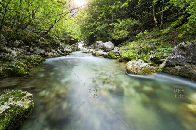 River in Triglav National Park, Slovenia
